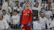 Un lesionado más en el Real Madrid: Courtois, el último en caer por una molestia muscular