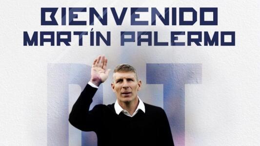 Pachuca le da la bienvenida a Martín Palermo como su nuevo técnico