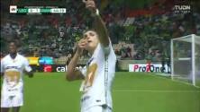 ¡Pumas da la sorpresa! Gran asistencia de Saucedo y Dinenno hace el 0-1