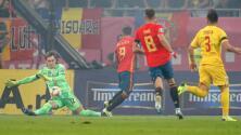 Rumania 1-2 España – Goles y Resumen – Grupo F- Clasificatorio Eurocopa 2020