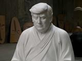 El 'Trump Buda' de 15 pies que se vende en internet