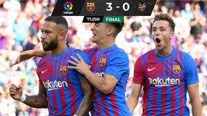 Barça vuelve a la senda de la victoria tras vencer al Levante