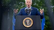 Biden celebra sus primeros 100 días de gobierno visitando Georgia, donde promovió su plan de infraestructura