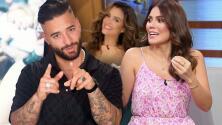 Maluma pide a Karina que sea su cupido ahora que se va para Enamorándonos y ella ya le tiene una candidata