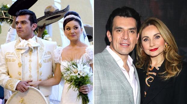 Los románticos mensajes de Elizabeth Álvarez y Jorge Salinas por sus 10 años de casados