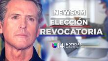 Todo lo que debes saber sobre la elección revocatoria de Gavin Newsom