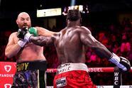 Tyson Fury derrotó por la vía de nocaut a Deontay Wilder en un plaito que no tuvo tregua, ambos boxeadores visitaron la lona.