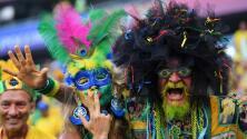 Aficionados brasileños confían en el juego de su selección y sueñan con ser hexacampeones en Rusia