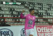 ¡Una joya de definición! Nico Ibáñez anota el 1-0 de Pachuca