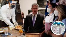 Alcalde De Blasio asegura que con una dosis se puede salir a bares y restaurantes