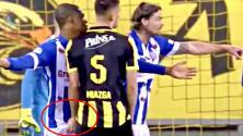 Peor que la de Lainez: Matt Miazga le tocó las partes íntimas a un rival cuando jugaba en Holanda