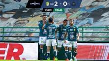 ¡Campeón de principio a fin! León domina y vence 2-0 a Pumas