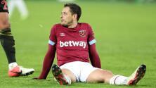 Javier Hernández tampoco estará contra Arsenal con West Ham