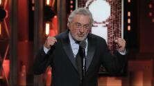 Así fue el insulto (silenciado) de Robert De Niro a Donald Trump en la entrega de los premios Tony