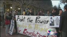 No cesan las protestas en Berkeley