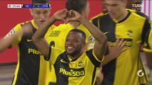 ¡Tiro, desvío y gol! Elia Meschack logra enseguida el empate 1-1