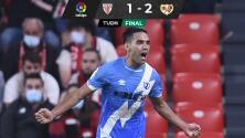 Radamel Falcao pone al Rayo Vallecano en zona de Champions League
