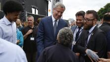 Residentes de Harlem se hicieron escuchar en una reunión comunitaria con el alcalde Bill de Blasio