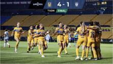 Resumen   Tigres baila, golea y elimina a Pachuca en los Cuartos