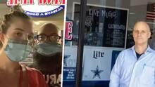"""Fue al revés"" Restaurante de Texas expulsa a pareja por llevar tapabocas"