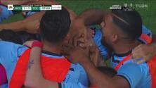 Gran media vuelta de Gigliotti y empató el Toluca