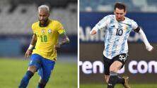 Neymar y Messi son nombrados los mejores jugadores de la Copa América