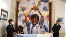 La justicia argentina analiza el corazón y la sangre de Maradona