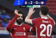 De la mano de Salah y Mané, Liverpool liquidó al RB Leipzig