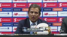 """Jorge Luis Pinto: """"Ganamos y estamos en la pelea"""""""