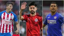 Pizarro, Peralta y Pulido, los más goleadores