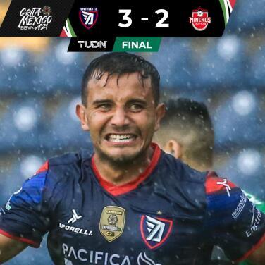 Resumen | Tepatitlán derrota 3-2 a Mineros tras tormenta eléctrica
