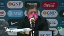 """Herrera tras perder ante el América: """"Hay una sensación de malestar"""""""