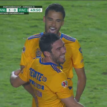 ¡Festejo a medias! El VAR retrasa la euforia del 3-0 de Juan Vigón