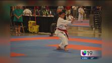 Promesas del deporte: Niña Karateca