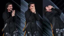 """""""What?"""": Juanes salta de la emoción al ser sorprendido en tarima por su más grande ídolo"""