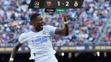 Alaba y Lucas Vázquez dan triunfo al Real Madrid sobre el Barcelona
