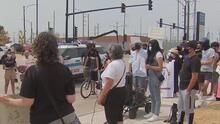 """""""Deberían irse"""": pese a oposición de comunidad, inauguran centro de distribución en la antigua planta Crawford"""