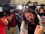 """""""Tuve que cruzar caminando"""": la dreamer Karumi Reyes vuelve a EEUU tras castigo de inmigración"""