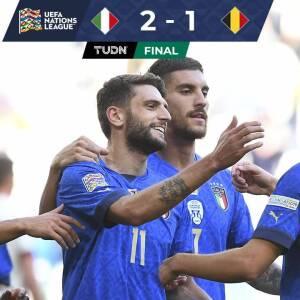 Resumen | ¡El tercer puesto se queda en casa! Italia vence a Bélgica
