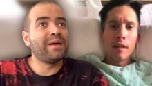 """Bañado en lágrimas, Nacho habla sobre Chyno Miranda: """"No me siento el mejor amigo con él"""""""