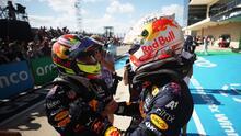 ¡Podio para 'Checo'! El mexicano queda tercero en el GP de Estados Unidos
