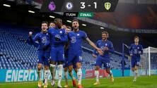 Giroud y Pulisic anotan para que Chelsea le remonte al Leeds