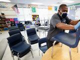 Más de 100 estudiantes en cuarentena tras detectarse casos de covid-19 en una escuela de Atlanta