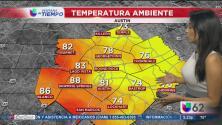 Llegan las precipitaciones a Austin y zona metropolitana