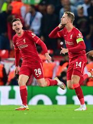 Con un autogol y goles de Mohamed Salah y Jordan Henderson, el Liverpool logra venir de atrás para vencer al milan 3-2 en Anfield.