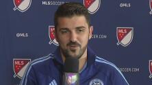 """David Villa: """"En Europa se interesan por la MLS, quieren venir aquí"""""""