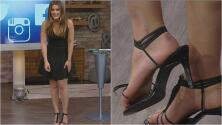 A Clarissa Molina se le rompió el zapato que Lili le había prestado en pleno show