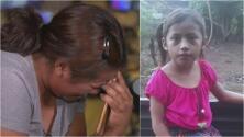 """""""Te extrañé muchísimo"""": el llanto de madre e hija al hablar por teléfono tras separación en la frontera"""