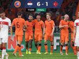 Resumen   Con histórico 'hat trick', Memphis guía goleada de Holanda sobre Turquía