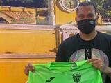 Carlos 'Gullit' Peña fue presentado en el Antigua de Guatemala